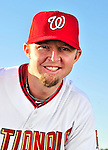 28 February 2010: Washington Nationals left fielder Chris Duncan poses for his Spring Training photo at Space Coast Stadium in Viera, Florida. Mandatory Credit: Ed Wolfstein Photo