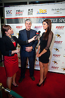 The 77th Annual Sports Star of the Year, presented by ROOT SPORTS, at Benaroya Hall in Seattle Wednesday, Jan. 27, 2012. The evening honors Northwest sports stars, carrying on an annual tradition started by Seattle Post-Intelligencer sports editor Royal Brougham in 1936. (Photography by Dan DeLong/Red Box Pictures)