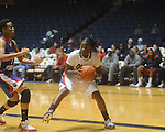 Ole Miss's Latosha Lawn vs. West Georgia in women's college basketball action in Oxford, Miss. on Thursday, November 4, 2010.