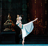 La Bayad&egrave;re<br /> The Mariinsky Ballet <br /> at The Royal Opera House, London, Great Britain <br /> rehearsal <br /> 11th August 2011 <br /> Presented by Victor Hochhauser<br /> Music by Ludwig Minkus <br /> Choreography by Marius Petipa <br /> <br /> Viktoria Tereshkina (as Nikiya, a bayadere)<br /> <br /> <br /> <br /> Photograph by Elliott Franks