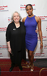 Jayne Houdyshell and Condola Rashad attends The Actors Fund Annual Gala at the Marriott Marquis on 5/8//2017 in New York City.