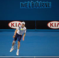 Andreas Seppi (ITA)<br /> <br /> Tennis - Australian Open 2015 - Grand Slam -  Melbourne Park - Melbourne - Victoria - Australia  - 25 January 2015. <br /> &copy; AMN IMAGES