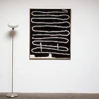 "Ed Moses: Rask, 2003, Digital Print, Image Dims. 49"" x 40.25"", Framed Dims. 50"" x 41.25"""