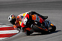 February 4, 2010 - Kuala Lampur, Malaysia - Spanish rider Dani Pedrosa (Repsol Honda Team) powers his bike for testing on Sepang International Circuit on February 4, 2010. (Photo Andrew Northcott/Nippon News)