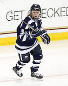 Courtney Sheary (UNH - 3) - The Boston College Eagles and the visiting University of New Hampshire Wildcats played to a scoreless tie in BC's senior game on Saturday, February 19, 2011, at Conte Forum in Chestnut Hill, Massachusetts.