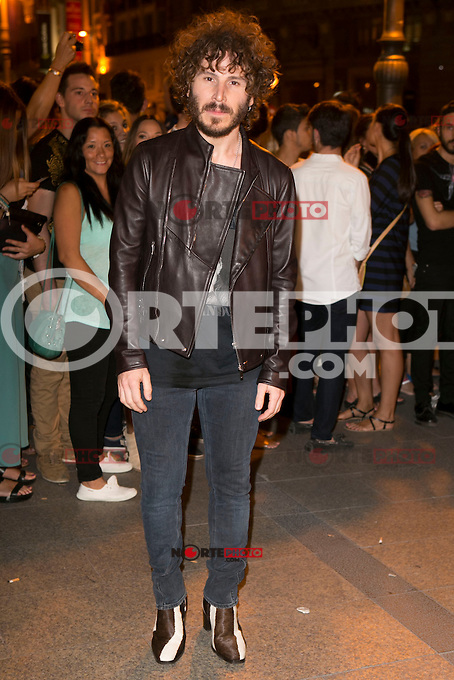 Ruben Ochandiano attends the party of Nike and Roberto Tisci at the Casino in Madrid, Spain. September 15, 2014. (ALTERPHOTOS/Carlos Dafonte) /NortePhoto.com