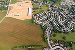 Lancaster County, Pennsylvania. Urban Sprawl encroaching on Agricultural land.