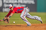 7 March 2013: Washington Nationals shortstop Ian Desmond in action during a Spring Training game against the Houston Astros at Osceola County Stadium in Kissimmee, Florida. The Astros defeated the Nationals 4-2 in Grapefruit League play. Mandatory Credit: Ed Wolfstein Photo *** RAW (NEF) Image File Available ***