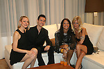Karen Biehl, Celebrity Magician Matt Wayne, Emma Snowdon-Jones and Alexa Winner attend Save the Eggs benefit Cocktails 2010 hosted by Tia Walker, Peggie Walker, BoConcept Owner Shaokao Cheng & Emma Snowdon-Jones at BoConcept New York, 5/17/10