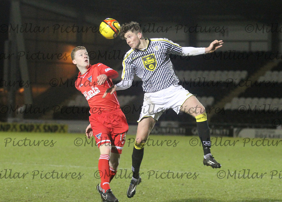St Mirren v Dunfermline Athletic, Development League 020315