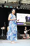 Liz Black of Sunday Praise with Liz Black Hosts WLIB's 6th Annual Gospel Concert at Central Park SummerStage