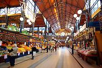 Central Market ( Nagycsarnok ) Budapest, Hungary