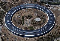 Cupertino California Aerial Photography