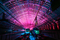 New Eurostar Terminal for high speed rail travel to Europe opens at St Pancras Station, London, UK