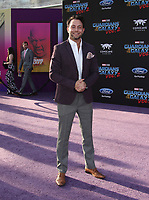 """HOLLYWOOD, CA - April 19: Jonathan Sadowski, At Premiere Of Disney And Marvel's """"Guardians Of The Galaxy Vol. 2"""" At The Dolby Theatre  In California on April 19, 2017. Credit: FS/MediaPunch"""