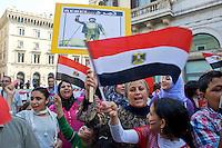 Copti egiziani contro il presidente  Mohammed Morsi