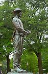 General William Tecumseh Sherman Monument, Artillery Soldier, Carl Rohl-Smith 1903, Sherman Plaza, Washington DC