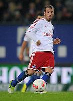 USSBALL   1. BUNDESLIGA    SAISON 2012/2013    10. Spieltag   Hamburger SV - FC Bayern Muenchen                    03.11.2012 Rafael van der Vaart (Hamburger SV)  Einzelaktion am Ball