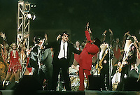 James Brown, Jim Belushi, The Blues Brothers and ZZ Top provided the halftime entertainment for Super Bowl XXXI on January 26, 1997 at the Superdome in New Orleans.
