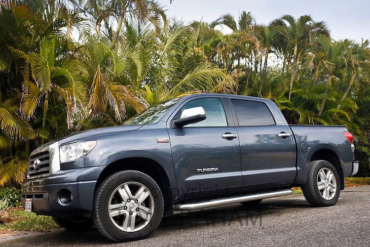 Toyota Tundra pickup truck on Anna Maria Island, Florida sunshine state, United States of America