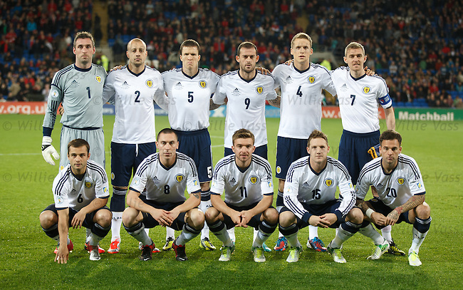 Scotland squad to face Wales in Cardiff