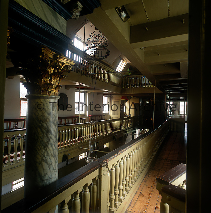 The interior of the OLITA (Our Lord In The Attic) museum. The attic of this bourgeois house conceals a secret Catholic church, known as Ons' Lieve Heer op Solder (Our Dear Lord in the Attic), originally built in 1663, when Catholics lost their right to workship in their own way.