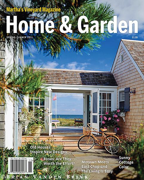 Martha's Vineyard Magazine Spring-Summer 2011 Cover