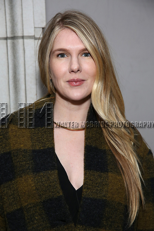 Lily Rabe attends the Broadway Opening Night of 'Lillian Helman's The Little Foxes' at the  Samuel J. Friedman Theatre on April 19, 2017 in New York City