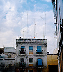 Uncared for house in Cadiz, Andalucia,Spain 1975