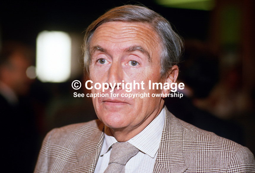 Dr John Gilbert, MP, Labour Party, UK, 1987028JG..Copyright Image from Victor Patterson, 54 Dorchester Park, Belfast, UK, BT9 6RJ..Tel: +44 28 9066 1296.Mob: +44 7802 353836.Voicemail +44 20 8816 7153.Skype: victorpattersonbelfast.Email: victorpatterson@me.com.Email: victorpatterson@ireland.com (back-up)..IMPORTANT: If you wish to use this image or any other of my images please go to www.victorpatterson.com and click on the Terms & Conditions. Then contact me by email or phone with the reference number(s) of the image(s) concerned.