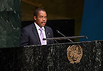 UNITED REPUBLIC OF TANZANIA<br /> <br /> General Assembly 70th session:  66th plenary meeting<br /> 1. Report of the Credentials Committee (A/70/573 (to be issued)) [item 3 (b)]<br /> 2. Culture of peace [item 16]<br /> (a) Report of the Secretary-General (A/70/373) <br /> (b) Draft resolutions (A/70/L.20 and A/70/L.24 (to be issued))