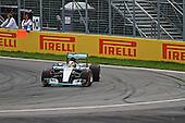 Lweis Hamilton (GB) at the wheel of his Mercedes AMG Formula 1 car at the Grand Prix of Canada race on June 7th 2015
