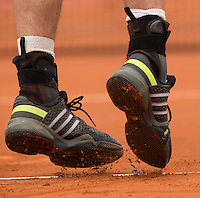 ANDY MURRAY (GBR)<br /> <br /> Tennis - French Open 2014 -  Toland Garros - Paris -  ATP-WTA - ITF - 2014  - France - <br /> 29 May 2014. <br /> <br /> &copy; AMN IMAGES
