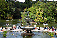 Bethesda Fountain on a Fall day in New York City