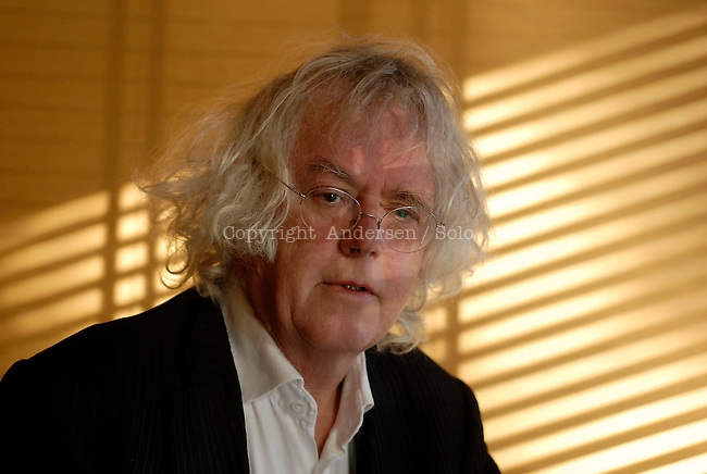 Dag Solstad, Norwegian writer.