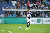 VOETBAL: HEERENVEEN: Abe Lenstra Stadion 29-08-2015, SC Heerenveen - PEC Zwolle, uitslag 1-1, Jeremiah St. Juste (#16), ©foto Martin de Jong