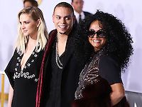 LOS ANGELES, CA, USA - NOVEMBER 17: Ashlee Simpson, Evan Ross, Diana Ross arrive at the Los Angeles Premiere Of Lionsgate's 'The Hunger Games: Mockingjay, Part 1' held at Nokia Theatre L.A. Live on November 17, 2014 in Los Angeles, California, United States. (Photo by Xavier Collin/Celebrity Monitor)