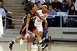 23 March 2014: UT Martin's Heather Butler (11). The University of North Carolina Tar Heels played the University of Tennessee Martin Skyhaws in an NCAA Division I Women's Basketball Tournament First Round game at Cameron Indoor Stadium in Durham, North Carolina. UNC won the game 60-58.