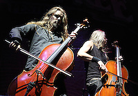 Apocalyptica perform at The Stone Free Festival at the O2 Arena, London on June 18th 2016<br /> CAP/ROS<br /> &copy;ROS/Capital Pictures /MediaPunch ***NORTH AND SOUTH AMERICAS ONLY***
