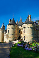15th century castle Château de Chaumont, rebuilt by Charles I d'Amboise, acquired by Catherine de Medici in 1560. Chaumont-sur-Loire, Loir-et-Cher, France