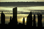 Callanish Standing Stones, Isle of Lewis,  Outer Hebrides Scotland