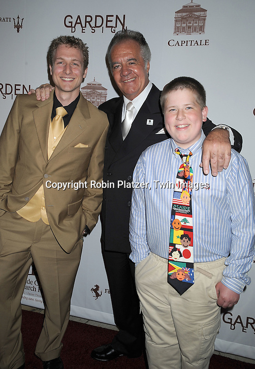 Michael Swart, Tony Sirico and Jake Marshall, both are ex patients of St Judes