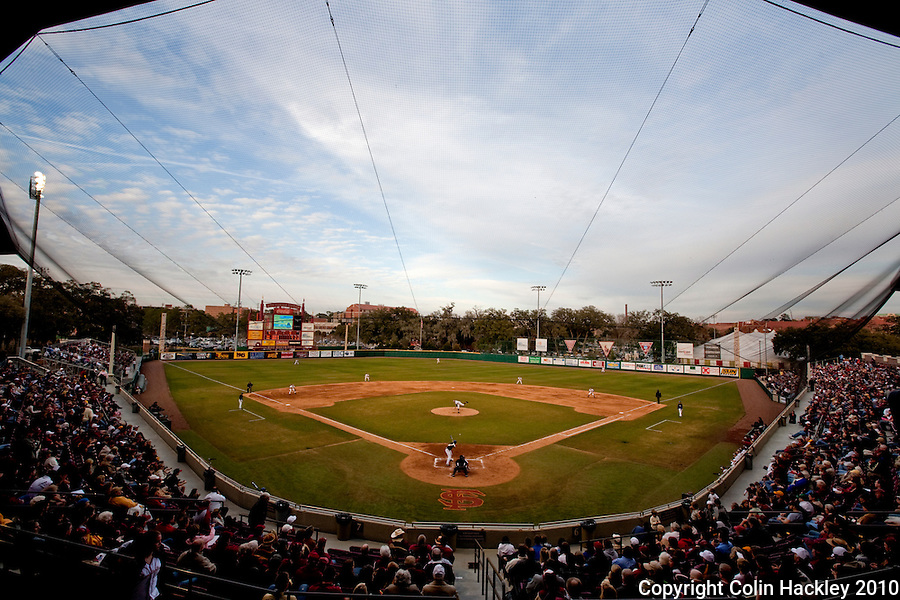 TALLAHASSEE, FL 10-FSU-GA.ST. BASE10 CH21-Florida State plays Georgia State in the season opener Friday at Dick Howser Stadium in Tallahassee. The Seminoles beat the Panthers 11-3...COLIN HACKLEY PHOTO