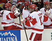 Garrett Noonan (BU - 13) - The visiting Northeastern University Huskies defeated the Boston University Terriers 6-5 on Friday, January 18, 2013, at Agganis Arena in Boston, Massachusetts.