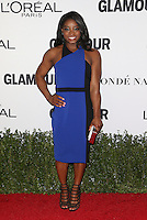 LOS ANGELES, CA - NOVEMBER 14: Simone Biles at  Glamour's Women Of The Year 2016 at NeueHouse Hollywood on November 14, 2016 in Los Angeles, California. Credit: Faye Sadou/MediaPunch