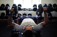 Bath Rugby gym session