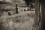 This turn of the century graveyard found in the Palouse of Eastern Washington State had no obvious markings or advertisement of its existence.