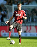 FUSSBALL   1. BUNDESLIGA   SAISON 2013/2014   7. SPIELTAG SV Werder Bremen - 1. FC Nuernberg                    29.09.2013 Tomas Pekhart (1. FC Nuernberg) Einzelaktion am Ball