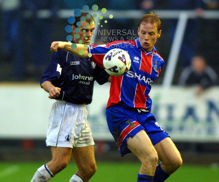 Maurice McDonald. Falkirk v Inverness C.T..No: 7 Martin Bavidge with Falkirk's No ?