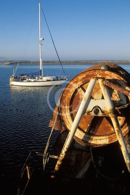 California, San Luis Obispo County, Fishing boat, Morro Bay
